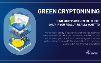 Send your own machines to us. But, only if you really, really want to.