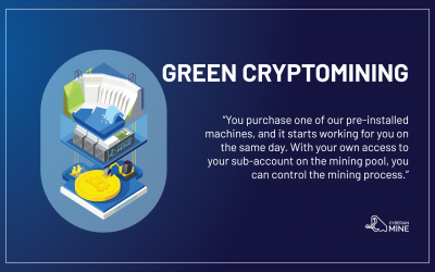 Green Cryptomining. From Siberia, with Love