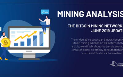 The Bitcoin mining network – June 2019 Update