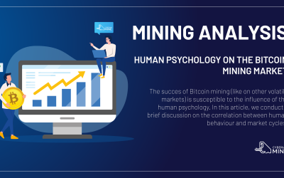 The influence of human psychology on the Bitcoin mining market